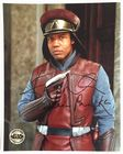 Hugh Quarshie Captain Panaka Signed Star Wars Official Pix 10x8 Photo Autograph